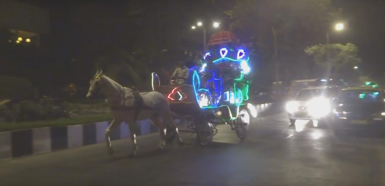 Victoria Horse Carriage Nariman Point