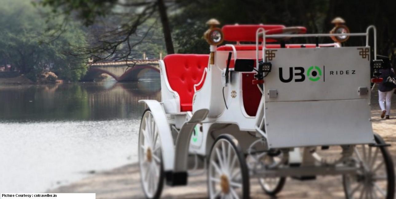 Victoria UBO Ridez E-Buggy Carriage