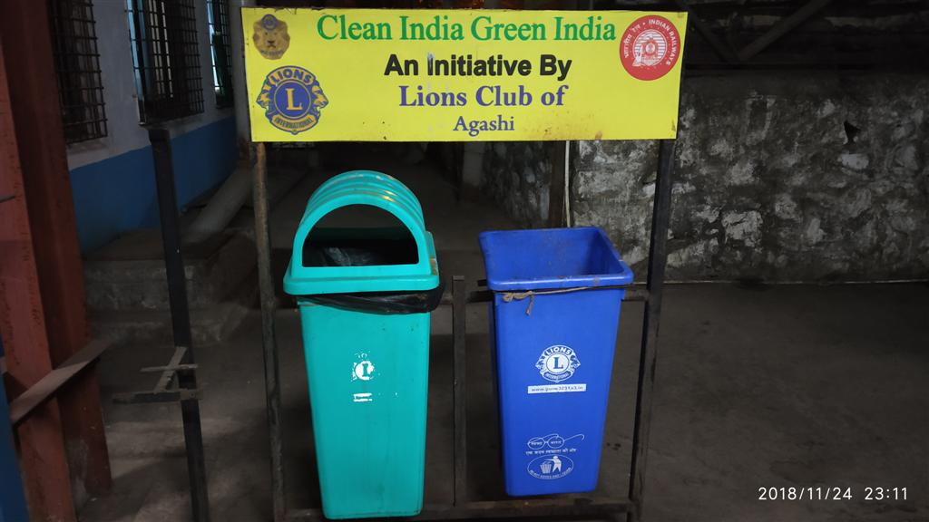 Wet and Dry Dustbins