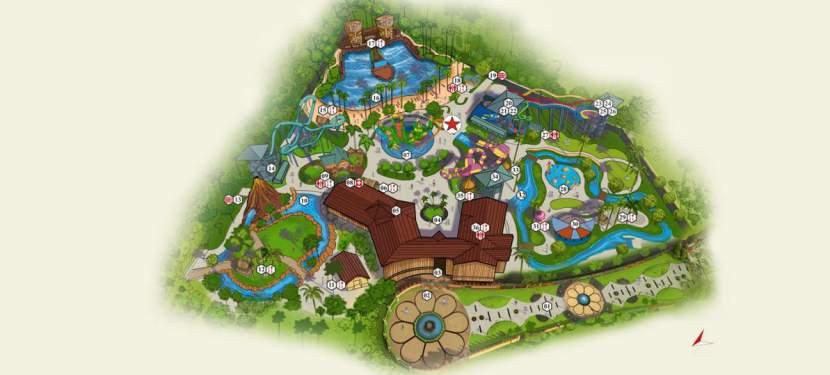 Wet N Joy Park Aerial Map