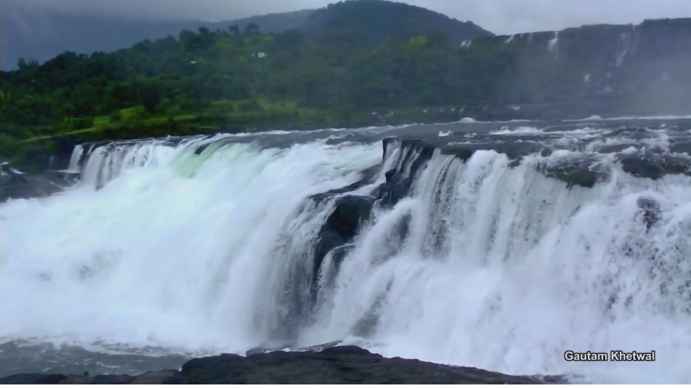 Wilson Dam Waterfall