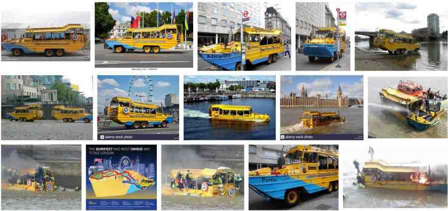 Yellow Duck Bus