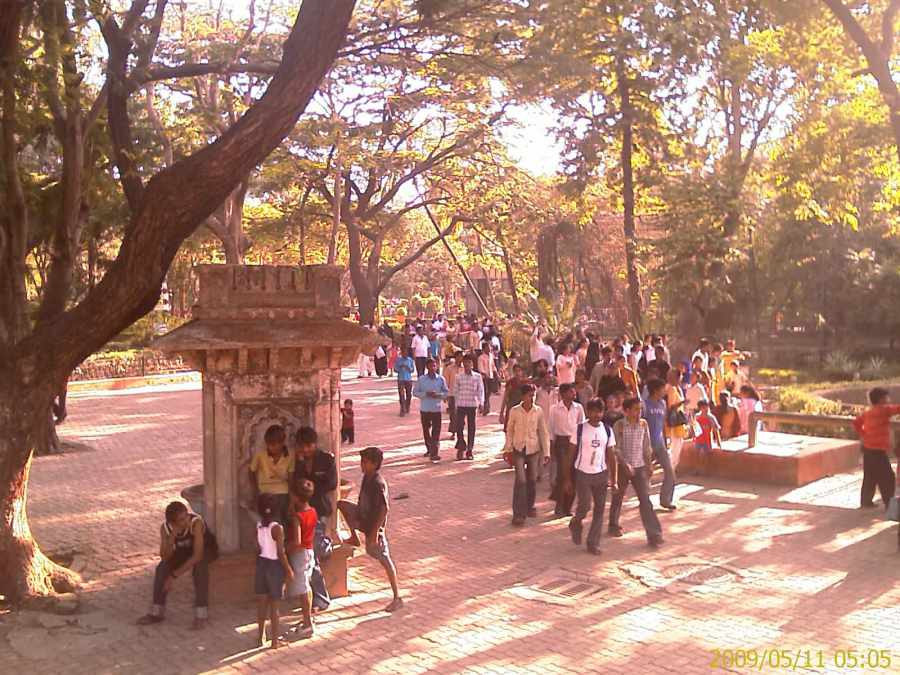 Mumbai Zoo Inside View
