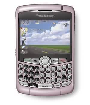 MTNL Blackberry Pinkcurve 8310
