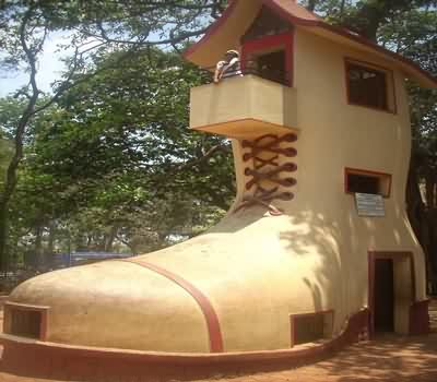 Shoe House at Kamla Nehru Park