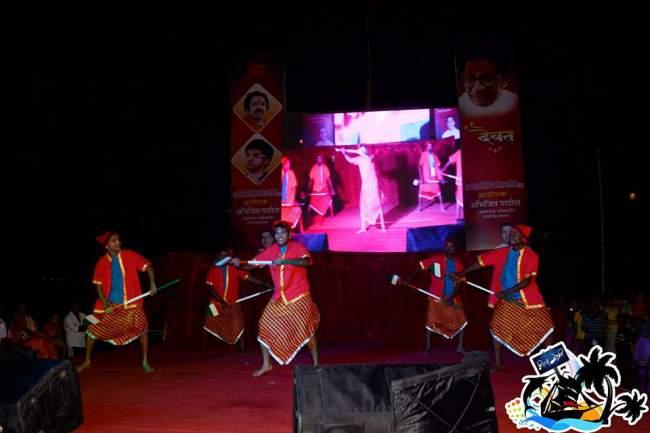 Famous Koli Dance in Authentic Attire