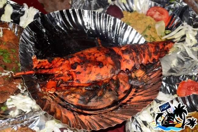 Lobster Fish from Mumbai Fried